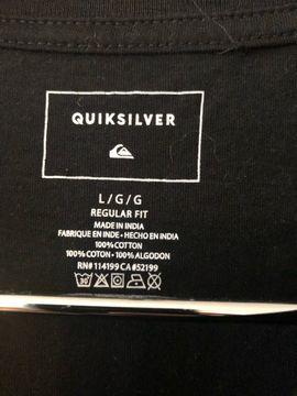 Herrenbekleidung - Quiksilver Langarmshirt Gr L 52