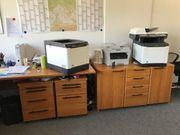 Büromöbel verschiedene - Kirschholzfurnier