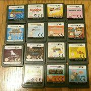 Nintendospiele zu verkaufen