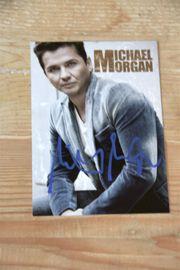 Original Michael Morgan Autogramm Autogrammkarte