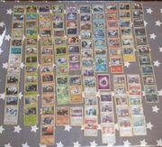 122 Pokemonkarten holo und revers