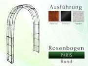 Metall- Eisen- Rosenbogen Paris Rund