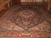 Perser-Teppich Kaschmar 301x203cm handgeknüpft mit