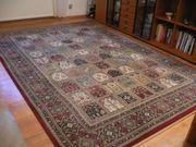 Teppich im Orient-Felder-Muster rot 3
