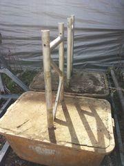 Betonkübel mit Gitterträger für Fahrbahnüberbauung