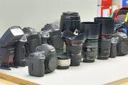 Canon EOS Ausrüstung - Vollformat - gesamt
