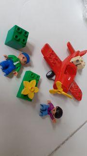 Lego Duplo Postflugzeug