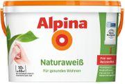 Alpina Natura Wandfarbe sonnengelb abgetönt