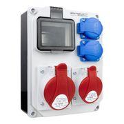 Stromverteiler HL DV-5347 32A 16A