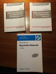 Jura Bayerisches Baurecht Verwaltungsrecht