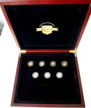 Weltwunder Antiken Welt 7 Goldmünzen