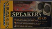 Speakers SBS35 Cambridge Soundworks DSL