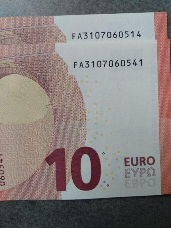 10 - Euro Banknoten - sehr selten -