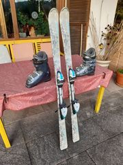 Fischer Ski Set Ski Bindung