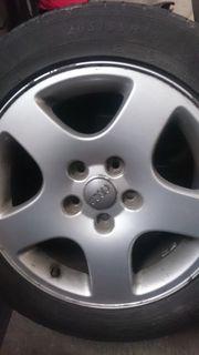 4x Audi A4 Alufelgen 16