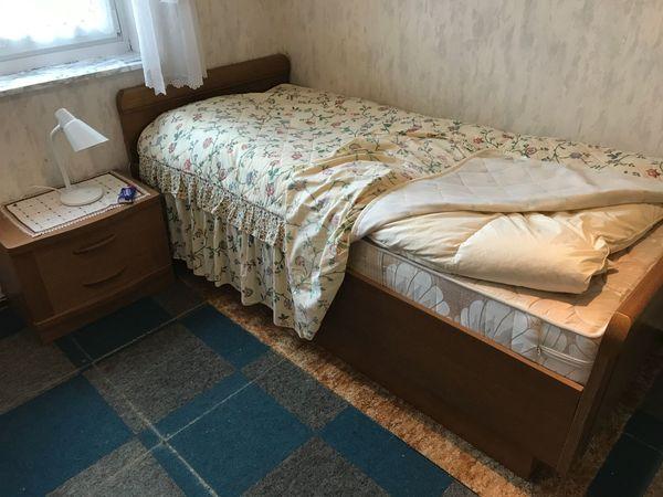 Seniorenbett stabil und schwer incl