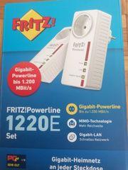 Fritz Powerline 1220E inkl Versand