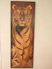 Unikat - Intarsie Bengalischer Tiger oder