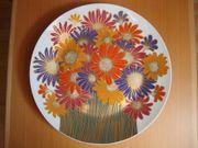 Rosenthal Porzellan Blumenstrauß Wandteller von