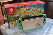 Nintendo Switch Animal Crossing mit