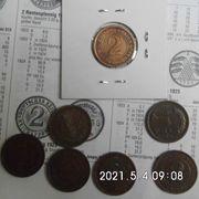 2 Rentenpfennig 1924