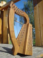 Keltische Mini Harfe 8 Saiten