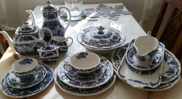 Edles Speise- Kaffeeservice Royal Homes