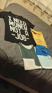 4 T- Shirts um 5
