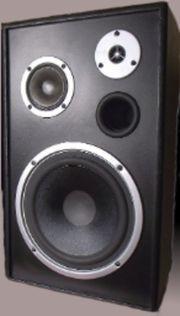 TOP 3-Wege-Lautsprecherboxen 140W