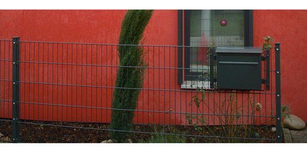 Doppelstabmattenzaun Mit Pfosten Standfusse Etc H 103 Cm Anthrazit Ral 7016 Metallzaun Zaun In Karlsruhe Sonstiges Fur Den Garten Balkon Terrasse Kostenlose Kleinanzeigen Bei Quoka De