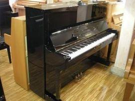 Tasteninstrumente - Klavier Yamaha U1 Schwarz poliert