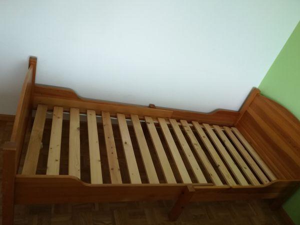 Bett Länge variabel Massivholz