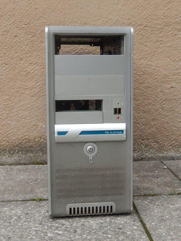 PC Miditower Gehäuse ATX microATX