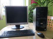 Computer Mit Monito 19 zoll