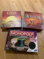 Brettspiele NEU - ANDOR CATAN Monopoly