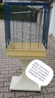 Größer Vogelkäfig mit Standfuß