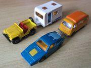 mehrere MATCHBOX- Autos anzubieten