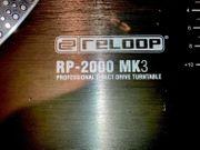 RELOOP RP-2000 MK3 DJ TURNTABLE