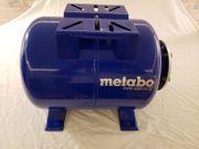 METABO Druckkessel Hauswasserwerk horizontal