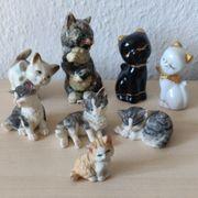 deko Katzensammlung