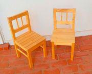 2 Kinderstühle Holz