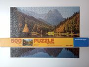 Ravensburger Puzzle Riessersee 500 Teile