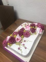 Kuchen Torte für Geburtstage verschiedener