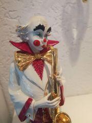 Skulptur großer Clown von Vitorio