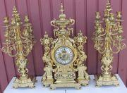 Antike französische Kaminuhr Tischuhr Pendule