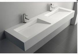 Bad, Einrichtung und Geräte - NEUES Doppelwaschbecken