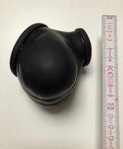Latex Penishülle Hodenhülle schwarz - Penis-Sleeve