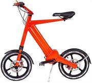 Car-Mate Pedelec E-Bike Orange bis