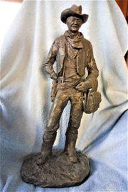 MONFORT Original John-Wayne-Skulptur aus Colorado