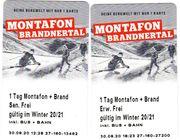 Tageskarte für Montafon und Brandnertal